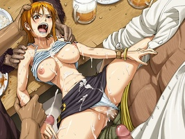 108417 - blackbeard nami one piece